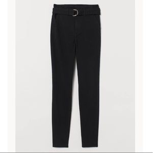 Twill Pants with Belt. H&M